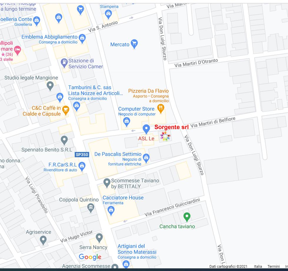 mappa sorgente